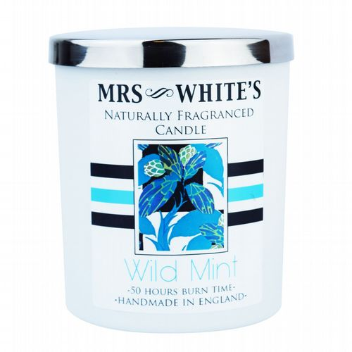 Mrs White's - Scented Candle - Wild Mint